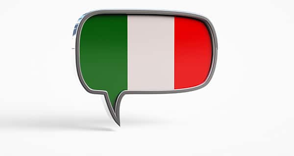 Italian Language Lessons